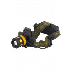 Мощный  налобный светодиодный аккумуляторный фонарь HL-K-13-1 (полный комплект)