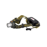 Мощный налобный светодиодный аккумуляторный фонарь HL-03 (Се...