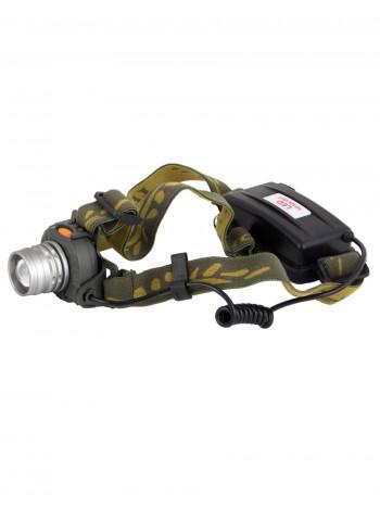 Мощный налобный светодиодный аккумуляторный фонарь HL-03 (Сенсор включения + полный комплект)