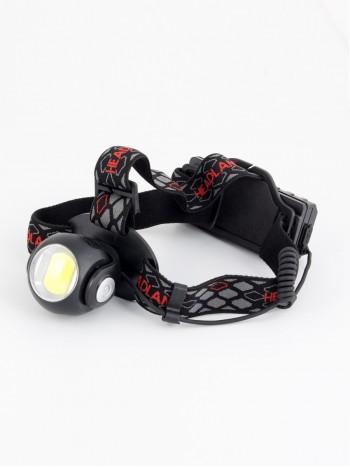 Мощный налобный светодиодный аккумуляторный фонарь HL-K88, белый и красный свет, (2 источника + зарядный кабель miniUSB)