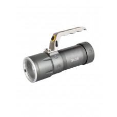 Фонарь светодиодный, мощный, ручной, аккумуляторный, арт. TS-3406 (зум, 3 режима, полный комплект)