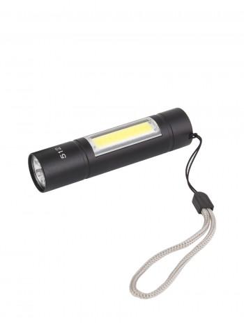 Компактный ручной тактический фонарь, арт. TS-512 (3 режима, кабель miniUSB)
