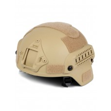 Шлем для страйкбола Ops Core FAST Tactical Helmet, ABS-пластик, цвет Пустыня (Desert)