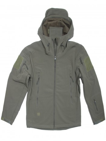 Куртка Софтшелл Softshell Tactical Gear, до -10С, цвет Олива (Olive)