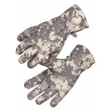 Перчатки тактические Softshell Tactical Gloves, Waterproof (для влажной и холодной погоды), цвет Цифровой серый (ACUPAT)