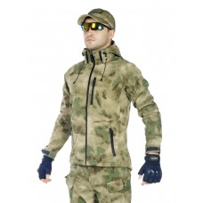 Куртка мужская тактическая софтшелл GONGTEX ASSAULT SOFTSHELL JACKET, цвет Атакс, Мох (A-TACS)