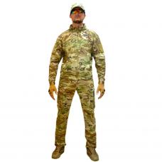 Костюм тактический мужской, демисезонный, Gongtex Outdoor Tactical Suit, цвет Мультикам