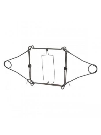 Капкан проходной КПТ-320, гуманный, разрешен для промысла в РФ (на бобра, лисицу, енота, барсука)