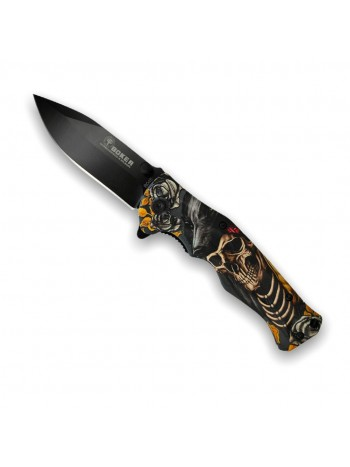Нож складной Boker B048 череп