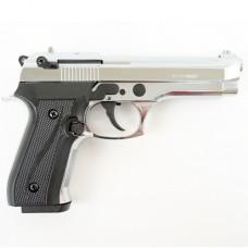 Охолощенный пистолет B92 Kurs кал.10ТК цвет хром