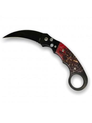 Нож выкидной F838 паук