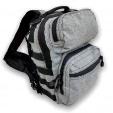 Тактическая сумка GONGTEX, 10 литров, арт. 00688, цвет Серый (Gray)