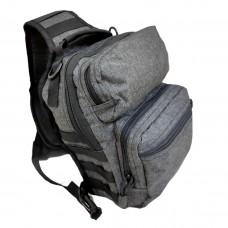 Тактическая сумка GONGTEX, 10 литров, арт. 00688, цвет Темно-Серый (Dark Grey)