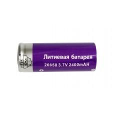 Литиевая батарея Поиск 26650, 3.7V, 2400mAh арт. YB-6