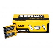 Марганцево-цинковая батарейка Supermax R3, 1.5V (уп. 60 шт)