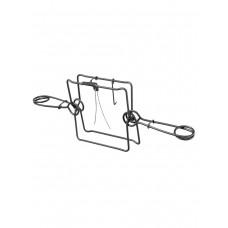 Капкан проходной КП-250, гуманный, разрешен для промысла в РФ (на бобра, барсука, выдру, песца)